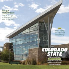 Rec Center featured in magazine's cover story