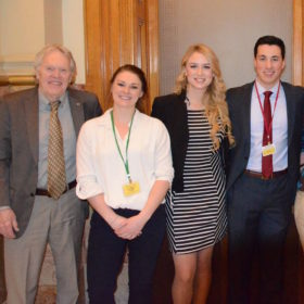 CSU's Capitol interns: A steady presence, and not just on Founders Day