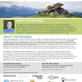 Course on sustainability offered April 10-11