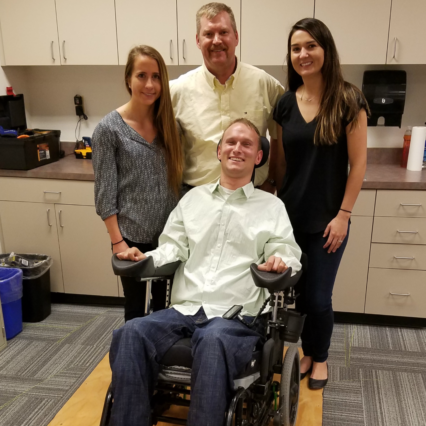 CSU research quantifies effectiveness of wheelchair suspension system