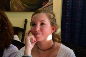 SAS Student Lacey O'Brien
