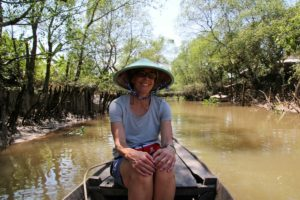 Stephanie Seng in the Mekong Delta of Vietnam