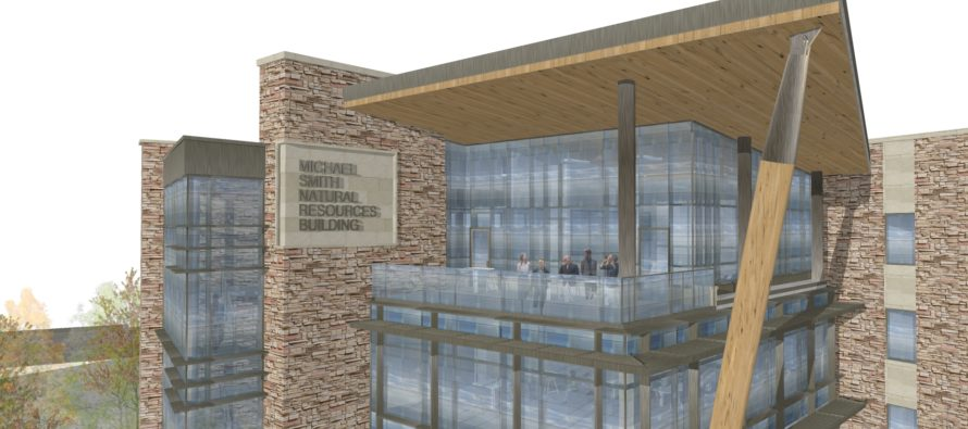 Construction of Smith Natural Resources Building addition kicks off in May