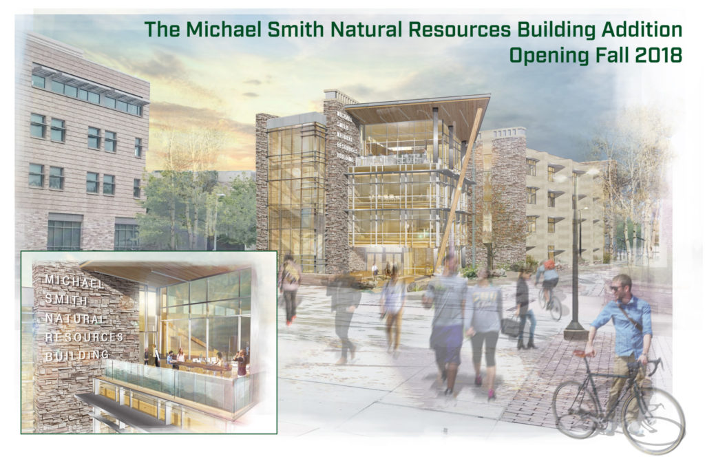 Rendering of Michael Smith Natural Resources Building