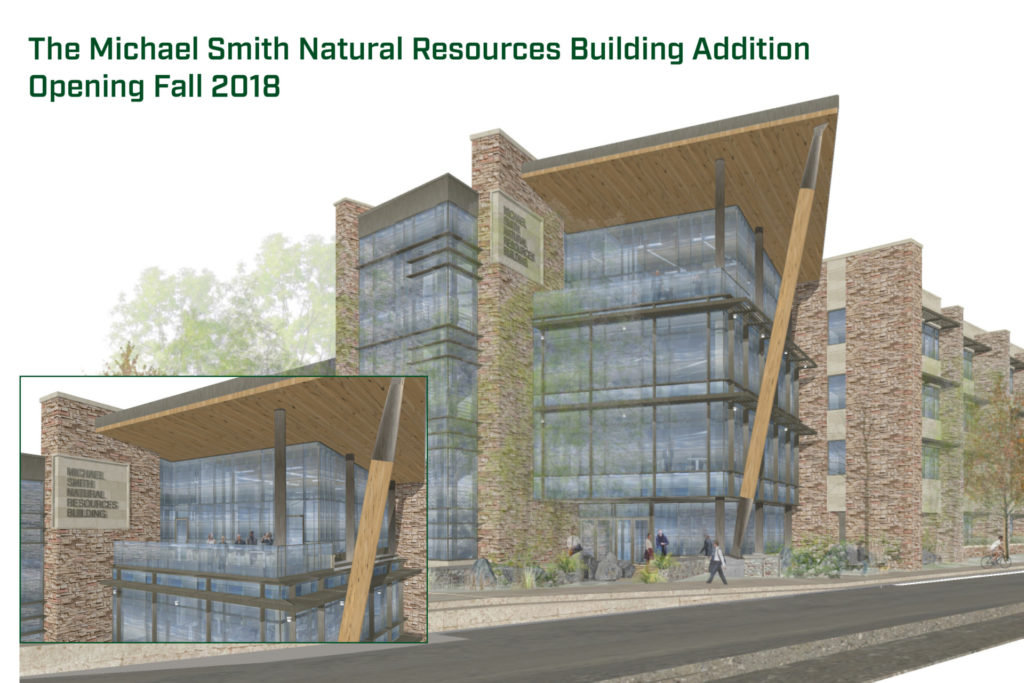 Construction of smith natural resources building addition for Smith house construction