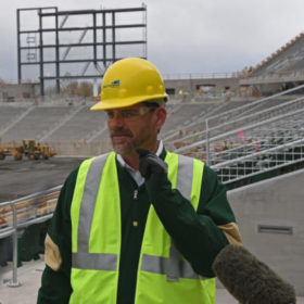 Countdown to kickoff: CSU's stadium coming to life