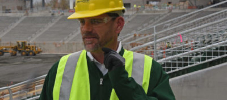 Countdown to kickoff: CSU's stadium coming to life