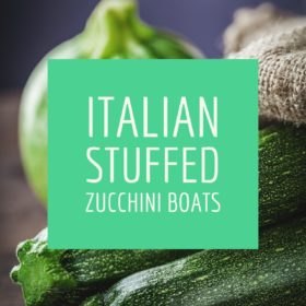 Recipe: Italian stuffed zucchini boats