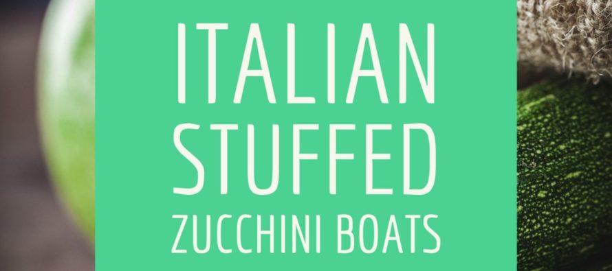 Recipe: Italian stuffed zucchini boats
