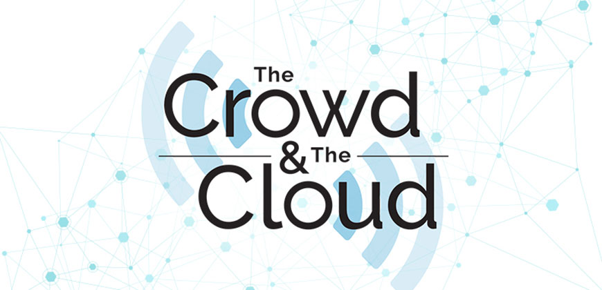 crowd and cloud logo