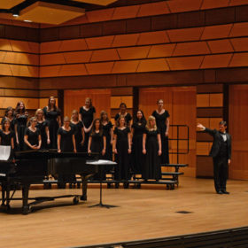 Chamber Choir and Concert Choir collaborate March 3