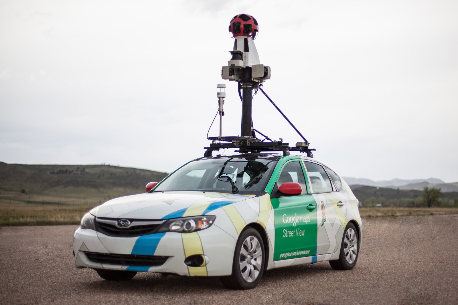 Google Street View Cars Are Eyes On The Ground For Urban Methane