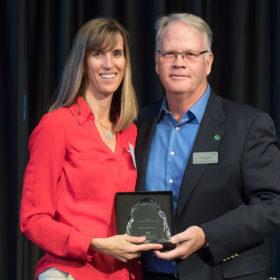 Construction Management's Anna Fontana wins CHHS Superior Staff Award