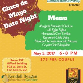 Date Night Cooking Class set for Cinco de Mayo