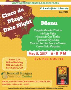Date Night Cooking Class Flyer