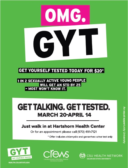 Get yourself tested with discounted std tests at hartshorn health act of pride the get yourself tested solutioingenieria Choice Image