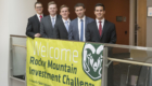 Student teams at the Rocky Mountain Investment Challenge, hosted by the Colorado State University College of Business. April 1, 2017