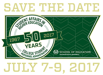 save the date for the SAHE 50th year reunion