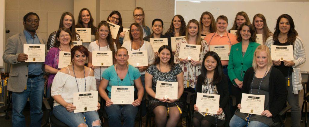 SSW Phi Alpha honor society