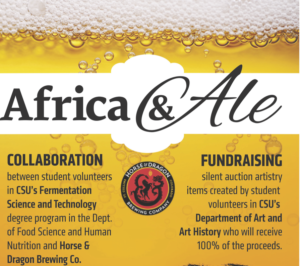 Africa & Ale poster April 2017