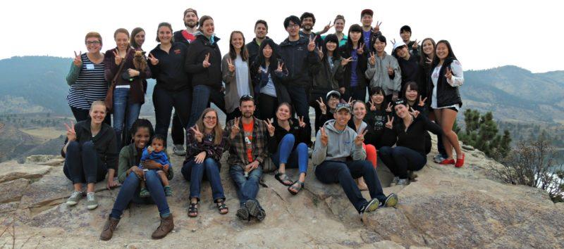 CSU OT students with students from Yamagata Japan