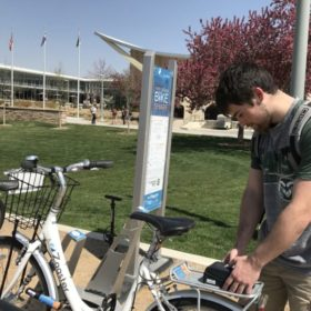 Bicycling culture on a roll on campus