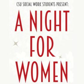 Social Work students host 'A Night for Women' April 13