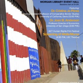 'Borders and Borderlands' symposium set for April 20