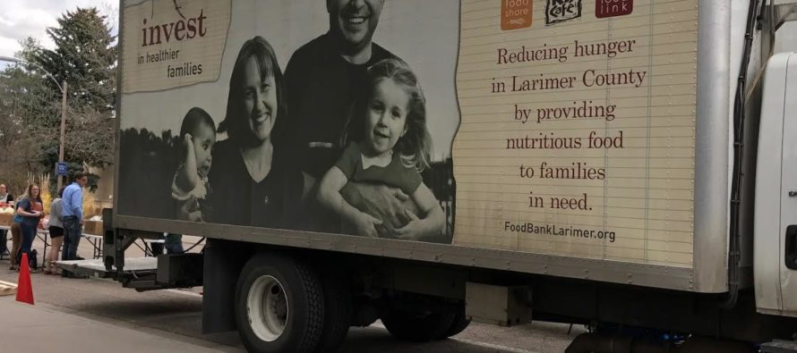 Mobile food bank provides food to CSU students, employees