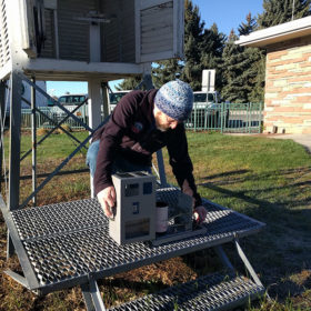 CSU weather station: 140-plus years of climate data