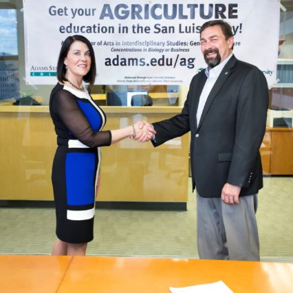 Adams State University and CSU sign MOU to provide agriculture education