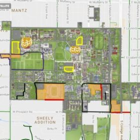 Commencement Week: Interactive campus map to ceremonies, parking