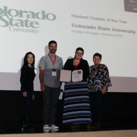 Interior design student chapter receives national recognition for third year in a row