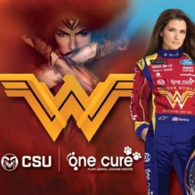 Danica Patrick, One Cure driving for a cancer answer