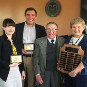 Two students awarded Griswold Scholarship for contributions to international community