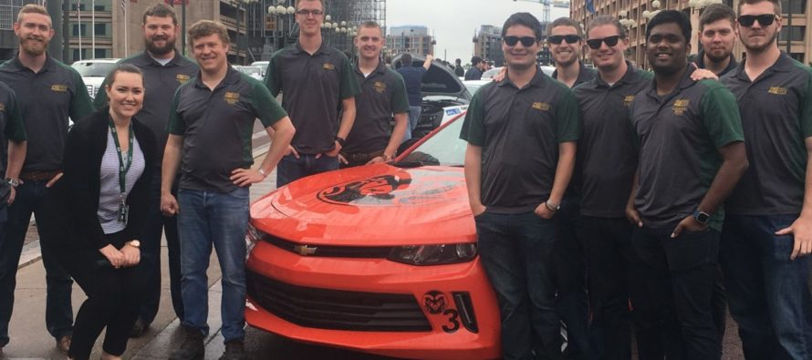 CSU EcoCar team gets Ram Family welcome in D.C. for DOE competition