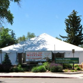 Surplus Property annual tent sale closes Lake Street