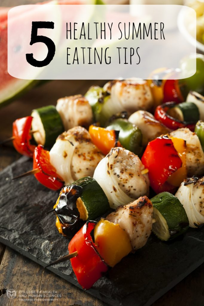 Here are 5 healthy summer eating tips to help you this season