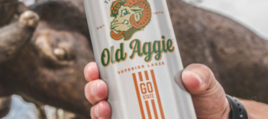 Good for what ales you: Old Aggie Lager on tap