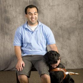 Far-sighted: Blind student Noah Al Hadidi earns second CSU degree