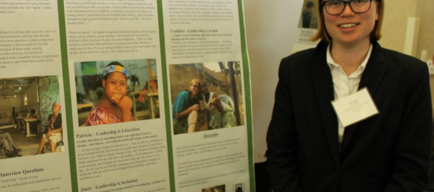 Social work student wins prize for undergraduate research