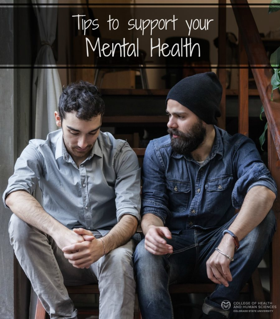 Here are some tips for supporting yourself and others during mental health awareness month.