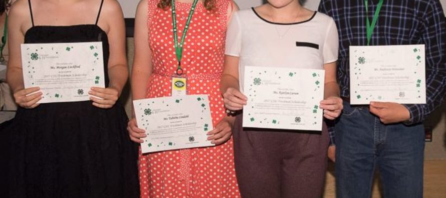 CSU supports 4-H'ers through scholarships