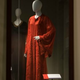 Moroccan caftans the focus of new Avenir Museum exhibit