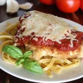 Recipe: Baked chicken parmesan