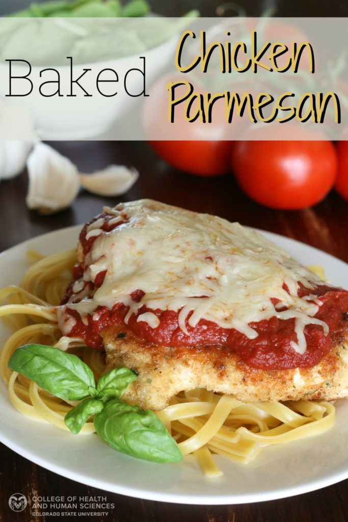Try this classic chicken parmesan recipe with fresh basil