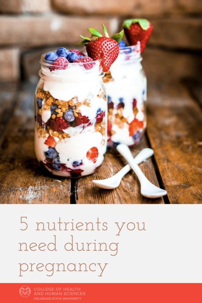 These 5 nutrients are especially important to eat during pregnancy.