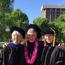 Social work doctoral students continue on successful path