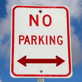 City enforcing no parking on Lake Street