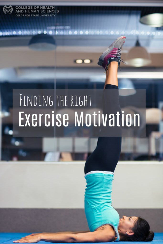 What type of exercise motivation is right for you?